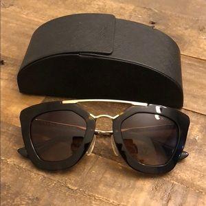 Prada cat eye sunglasses